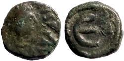 Ancient Coins - Justin I AE11 Pentanummium. E w. A officiana