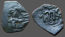 Ancient Coins - Constans II AE25 Follis.  uncertain mint.