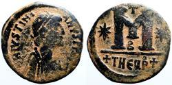 Ancient Coins - Justinian I  AE29 follis. Antioch