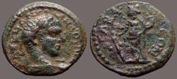 Ancient Coins - Elagabalus AE23  Seleucis & Pieria, Gabala.  Tyche
