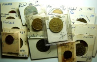 World Coins - 26 Coins from Finland