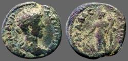 Ancient Coins - Marcus Aurelius AE18 Sagalassus, Pisidia.  Tyche