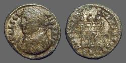 Ancient Coins - Licinius I AE3 Campgate.  Scarce.