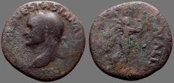 Ancient Coins - Vespasian AE as Commemorating the Jewish War.