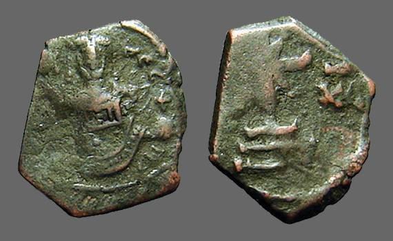 Ancient Coins - Manuel I AE Tetarteron Cross on steps SB#1976