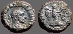 Ancient Coins - Maximianus, Egypt, Alexandria, Potin Tetradrachm, Nike