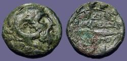 Ancient Coins - Macedon AE23 Philip V Heracles / Harpa