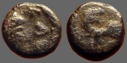 Ancient Coins - Leo I AE4 nummus / Lion. Constantinople.