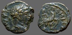 Ancient Coins - Elagabalus AE17 Syria, Emisa,  Eagle