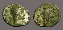 Ancient Coins - Gallienus billon antoninianus