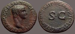 Ancient Coins - Germanicus AE28 As.  SC