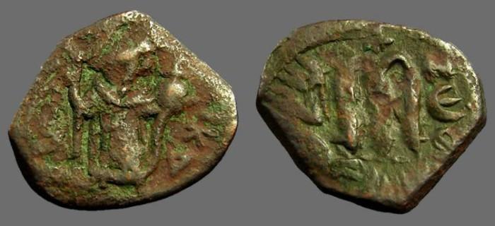 Ancient Coins - Constans II AE23 Follis 'M' SB#1001
