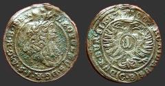 World Coins - Austria, Leopold I, the Hogmouth AR15 (1) Kruezer 1700   Nice quality coin.