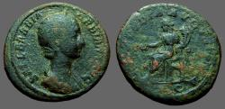 Ancient Coins - Orbiana AE27 as. Concordia seated left