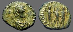 Ancient Coins - Honorius AE3 Theodosius II, Aracadius, Honorius stg. Antioch, Turkey