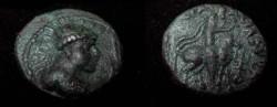 Ancient Coins - Kushan Soter Mega AE Tetradrachm