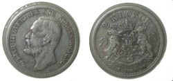 World Coins - Sweden 2 Kroner 1904