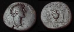 Ancient Coins - Marcus Aurelius AE Sestertius 161-180AD