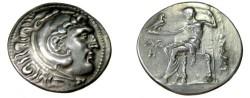 Ancient Coins - Macedonian Kingdom Alexander III AR Tetradrachm