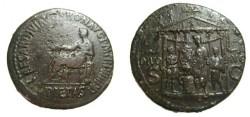 Ancient Coins - Caligula Æ Sestertius. Struck 37/8 AD.