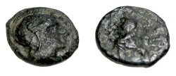 Ancient Coins - Asia Minor IONIA Magnesia AE 11 2nd - 1st Cent BC S-4492