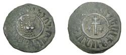 World Coins - Armenia Levon I 1190-1219 AD AE tank Nercessian 301