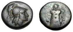 Ancient Coins - Asia Minor Mysia, Peigamon AE 20 2 nd- 1st Cent BC S-3960