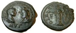 Ancient Coins - Gordian III & Serapis AE27 Odessos 238-244 AD