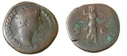 Ancient Coins - Marcua Aurelius Ae Sestertius 161-180AD