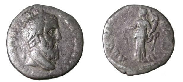 Ancient Coins - Pertinax AR Denarius 193AD