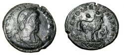Ancient Coins - Julian II The Apostate 360-363 AD AE1 Note Eagle before bull (scarce)
