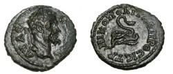 Ancient Coins - Caracalla AE17 Nicoplis Moesia Inferior Tyche