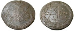 World Coins - Russia 1778 EM 5 Kopeks