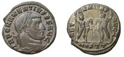 Ancient Coins - Maxentius 306-312 AD Aeternitas RIC 36