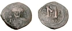 Ancient Coins - Justinian I 527-565AD  AE Follis Theoupolis
