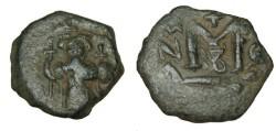 Ancient Coins - Constans II 641-668AD AE Follis S-1008