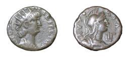 Ancient Coins - Roman Egypt  Nero  54-68 AD  Billion Tetradrachm  13.14 gm Yr 16