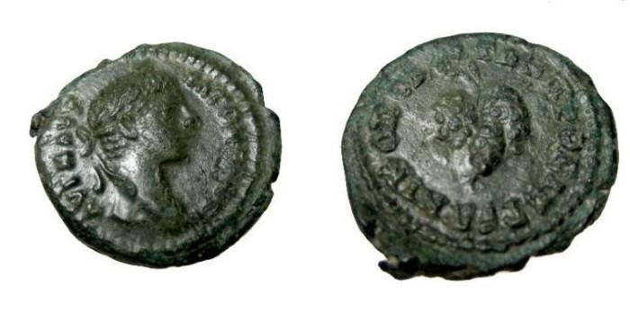 Ancient Coins - Elagabalus AE17 Nicoplis Moesia Inferior Moushmov 1395