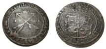World Coins - Sweden Gustav II Adolf 1611-1632 Sater 1 Ore 1628  KM# 115
