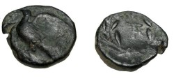 Ancient Coins - Peloponnesos Sikyon AE16 4th Cent BC S-2780
