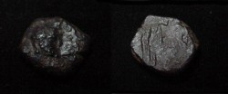 Ancient Coins - The Kushan Shaws Shapur AD 241-272 AE 15 M 1267