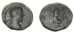 Ancient Coins - Marcus Aurelius 139-180AD Dupondius IMP X COS III PP RIC 1242