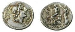 Ancient Coins - L. Caecilius Metellus. 96 BC. AR Denarius