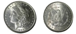 Us Coins - 1889 Morgan