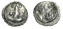 Ancient Coins - Gujarat Kingdom of Sindh Ca 570-712 Anonymous AR Drachm M-213-216