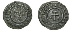 "World Coins - Armenia Levon I 1190-1219 AD AE tank Reverse script ends in ""I"""
