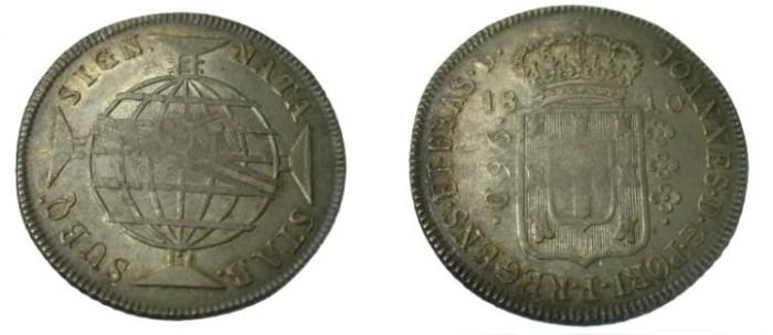 World Coins - 1810 Brazil 960 Reis