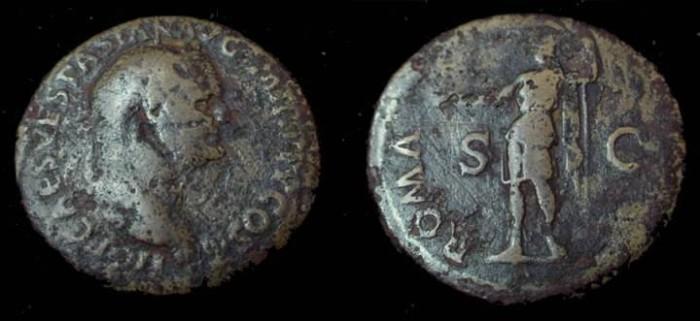 Ancient Coins - Vespasian Æ sestertius
