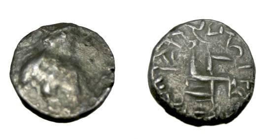 Ancient Coins - Indo Parthian The Parata Rajas Miramara 1st Cent AD AR Hemi  Drachm