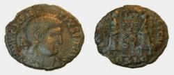 Ancient Coins - Magentius 350-353AD AE Half Centenionalsis
